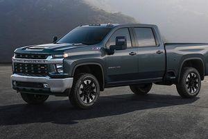 Bán tải Chevrolet Silverado HD 2020 công bố giá, rẻ hơn thế hệ trước