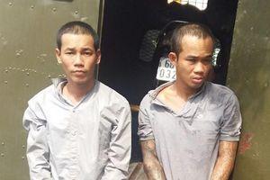 Khởi tố hai bị can trốn khỏi nơi giam giữ