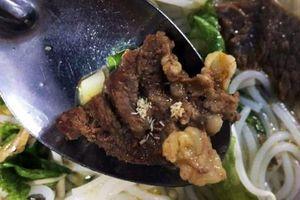 Sán xuất hiện trong thức ăn của công nhân Đà Nẵng