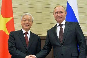 Quan hệ Việt - Nga đã lên một tầm cao mới