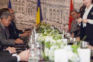 Lý Nhã Kỳ chiêu đãi tiệc phái đoàn ngoại giao châu Âu