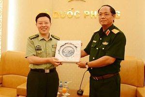 Đoàn Học viện Chính trị, Đại học Quốc phòng Quân Giải phóng nhân dân Trung Quốc thăm Việt Nam