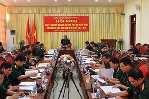 Đảng ủy Quân khu 4 sơ kết 5 năm thực hiện Cuộc vận động 'Phát huy truyền thống, cống hiến tài năng, xứng danh Bộ đội Cụ Hồ'