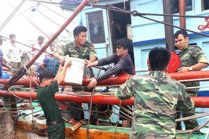 Kịp thời ứng cứu tàu cá của ngư dân bốc cháy