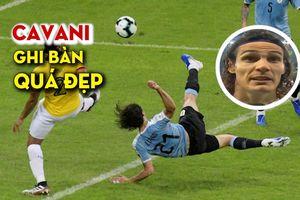 Bàn thắng quá đẹp và niềm vui của Cavani trong màu áo Uruguay