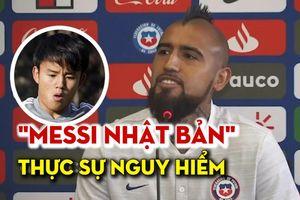 'Messi Nhật Bản' quá hay, tiền vệ Barcelona cũng phải e dè