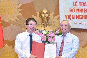 Ông Nguyễn Văn Hiển được bổ nhiệm giữ chức Viện trưởng Viện Nghiên cứu lập pháp