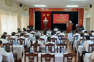 TAND tỉnh Quảng Nam: Sơ kết 6 tháng đầu năm công tác thi đua, khen thưởng
