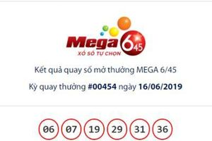 Xổ số Vietlott Mega 6/45: 18 người hụt giải Jackpot hơn 15 tỷ đồng ngày hôm qua?