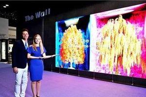Samsung sắp phát hành 'bức tường tivi' trên thị trường toàn cầu