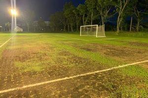 Hãi hùng với nơi Hà Nội FC tập luyện chuẩn bị cho trận gặp Ceres Negros