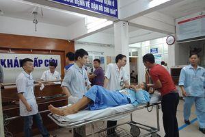 4 nạn nhân đang được điều trị tích cực tại Bệnh viện Việt Đức