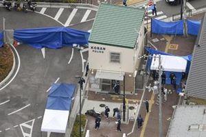 Bắt giữ nam nghi phạm Nhật Bản dùng dao tấn công cảnh sát