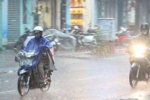 Đêm nay và sáng mai miền Bắc có thể mưa lớn