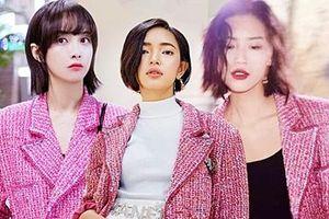'Đụng hàng' áo khoác Chanel hơn 150 triệu, Châu Bùi sang chảnh lấn át Liu Wen, Victoria Song