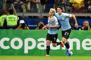 Kết quả Copa America: Tuyển Uruguay hủy diệt Ecuador, chiếm ngôi đầu bảng C