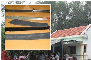 Tạm giữ hình sự nhóm thanh niên truy sát ba cha con ở Quảng Nam