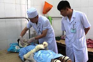 Bình gas phát nổ trong đám tang, 5 người ở Thanh Hóa bị bỏng nặng