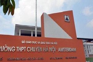Công bố điểm chuẩn lớp 6 trường THPT Chuyên Hà Nội - Amsterdam