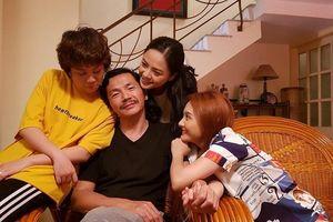 'Ông Sơn' Trung Anh và hình ảnh người cha nuốt nước mắt vào trong