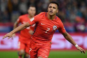 Alexis Sanchez tỏa sáng giúp tuyển Chile 'đè bẹp' Nhật Bản