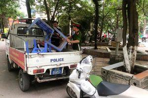 Lập lại trật tự đô thị trên phố Trần Điền, phường Định Công