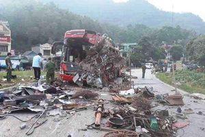 Vụ xe tải đâm xe khách ở Hòa Bình: Xe tải lấn làn, chạy quá tốc độ