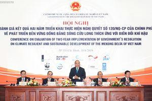 Thủ tướng chủ trì 'diễn đàn' về ĐBSCL: Không để 'nước chảy lá môn'