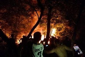Hai vụ cháy rừng xảy ra liên tiếp trong đêm