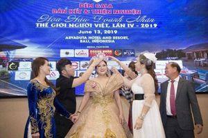 Cuộc thi Hoa hậu Doanh nhân Thế giới Người Việt 2019 tổ chức 'chui' tại nước ngoài: Vi phạm pháp luật và làm xấu hình ảnh nhan sắc Việt