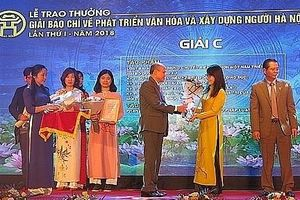 Hà Nội phát động giải Báo chí có giá trị giải thưởng lên tới 100 triệu đồng