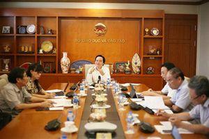 Tất cả lãnh đạo Bộ Giáo dục và Đào tạo tập trung cao độ cho kỳ thi THPT quốc gia