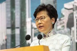 Bà Carrie Lam xin lỗi dân Hồng Kông, không từ chức, không rút luật dẫn độ