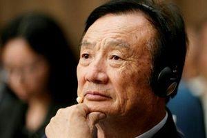 Ông chủ Huawei thừa nhận lệnh cấm của Mỹ 'đau' hơn dự kiến