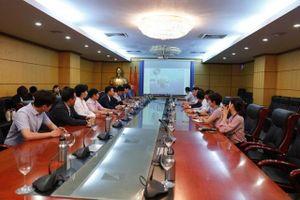 Thứ trưởng Võ Tuấn Nhân tiếp và làm việc với Đoàn cán bộ Thành phố Gyeongju (Hàn Quốc) về vấn đề xử lý nước thải