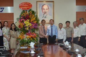Phó Trưởng Ban Tuyên giáo Trung ương Bùi Trường Giang chúc mừng các cơ quan báo chí