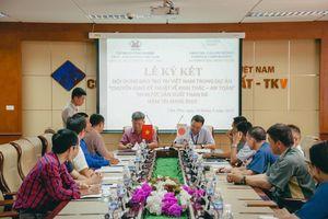 Ký kết chương trình hợp tác giữa Đoàn chuyên gia Nhật Bản và Công ty Than Thống Nhất - TKV
