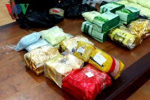 Tội phạm ma túy đang dịch chuyển về biên giới Tây Nam