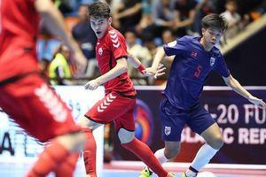 Futsal Thái Lan cũng… thua sốc
