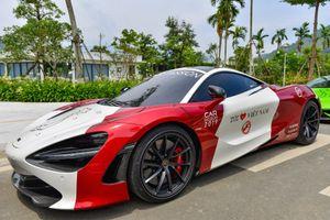 Chi tiết 'cánh chim đầu đàn' McLaren 720S dẫn đoàn Car Passion