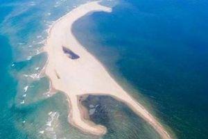 Chuyên gia lý giải việc xuất hiện 'đảo khủng long' ở biển Cửa Đại