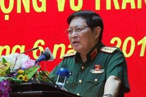 Đại tướng Ngô Xuân Lịch tiếp xúc cử tri lực lượng vũ trang tỉnh Hà Nam