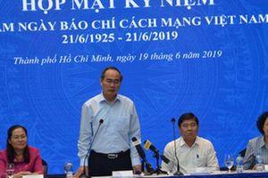 Bí thư Nguyễn Thiện Nhân: Người làm báo cần tiếp tục tự hào về nghề