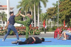Mãn nhãn với những màn biểu diễn võ thuật