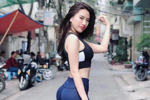 Body nóng bỏng, số đo chuẩn từng centimet của 'hot girl siêu vòng 3' Việt
