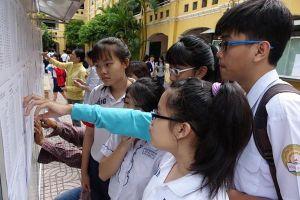 Hà Nội công bố điểm chuẩn vào lớp 10 chương trình song bằng tú tài