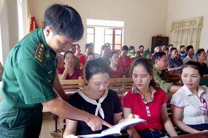 Nâng cao công tác phòng chống tội phạm và tệ nạn ma túy khu vực biên giới Hà Tĩnh