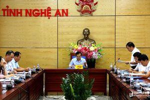 Chuẩn bị chu đáo cho Hội nghị xúc tiến đầu tư vào Nghệ An tại TP Hồ Chí Minh