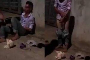 Trộm đồ lót phụ nữ, kẻ bệnh hoạn bị đại ca xăm trổ đánh bầm dập
