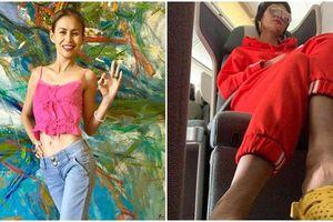 Sau khi mắng H'Hen Niê 'quê mùa lôm côm', vợ cũ Huy Khánh tiếp tục yêu cầu Hoa hậu Hoàn vũ phải 'tự trọng' hơn vì đi dép tổ ong